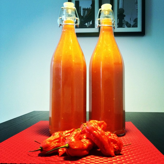 Bringing the heat: Ghost Chili Mango hot sauce recipe