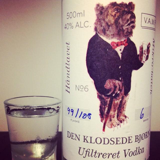 Klodsede bjørn vodka