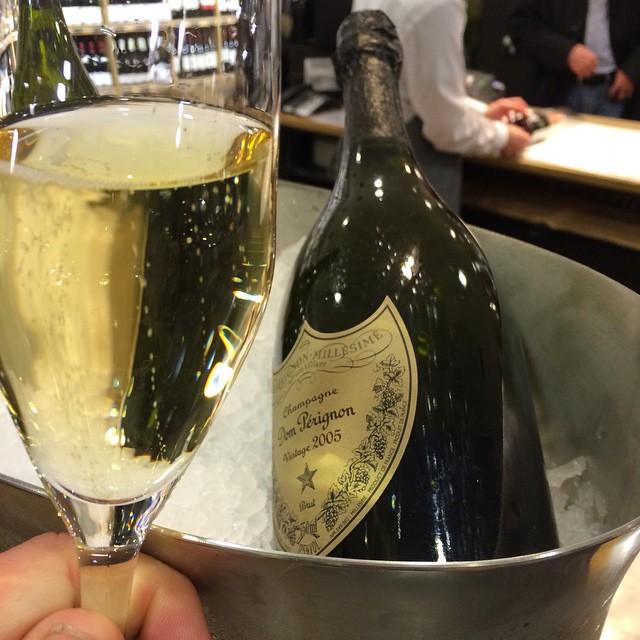 Dom Perignon 2005 Champagne in cooler