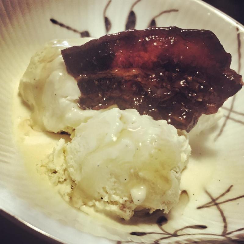 bacon bourbon ice cream
