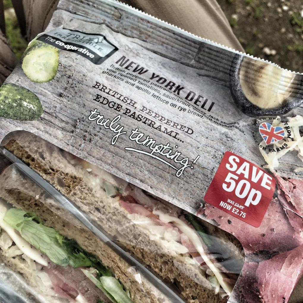 Processed foods - Pastrami Deli Sandwich