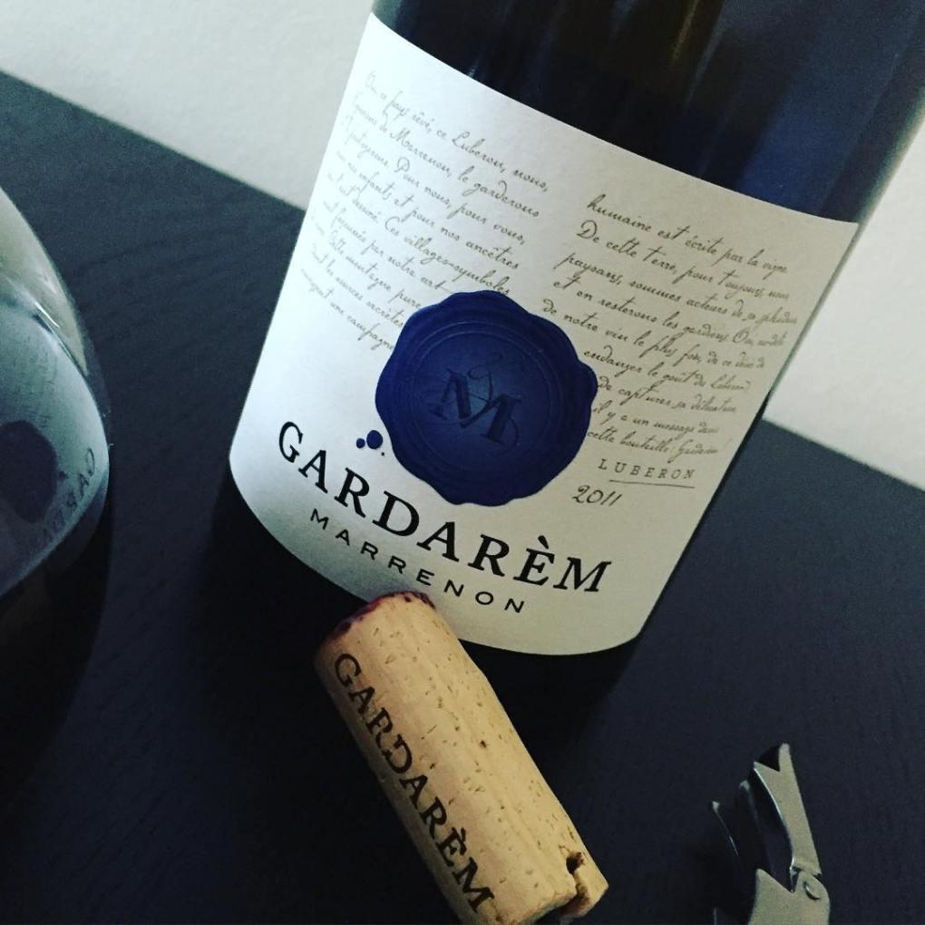 Gardarem wine label close-up