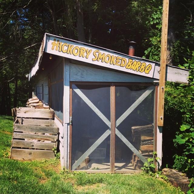 a smoke house in North Carolina