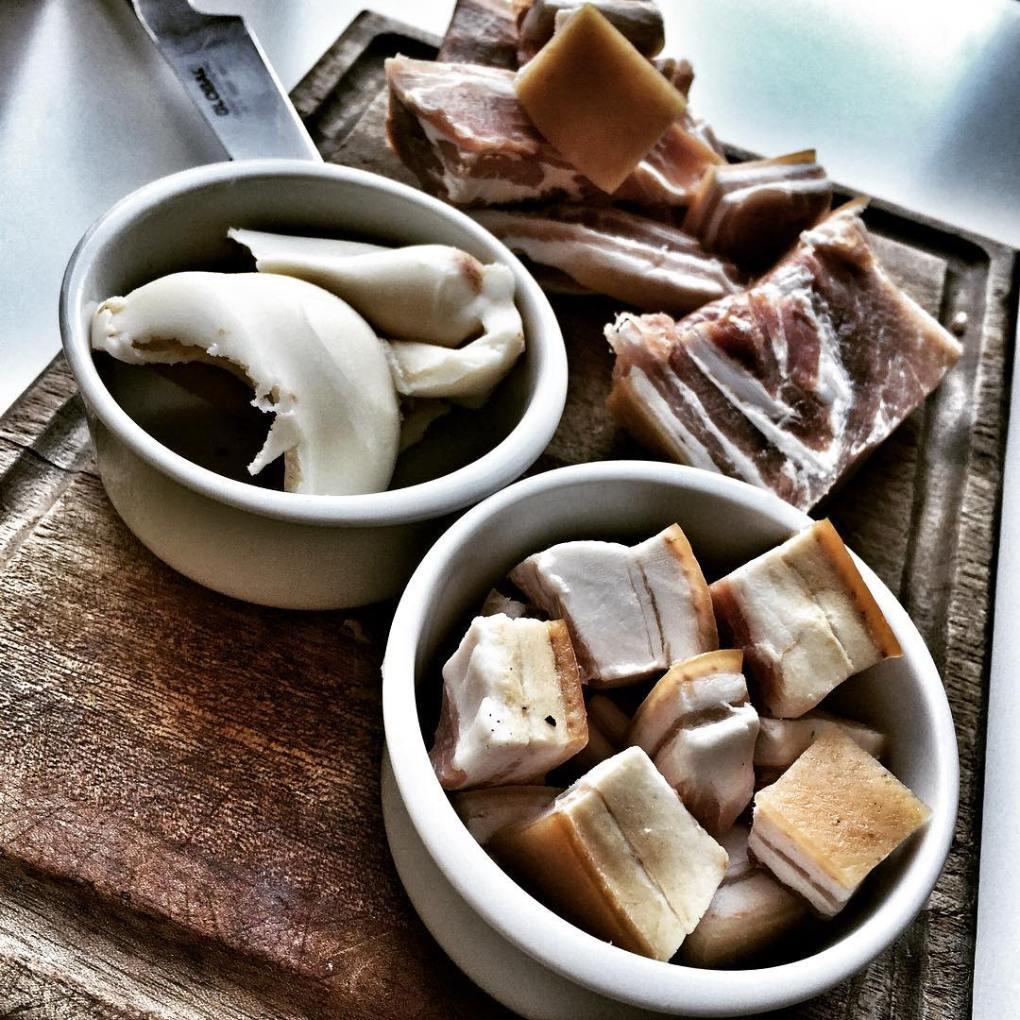 Pork fat for Coq Au Vin