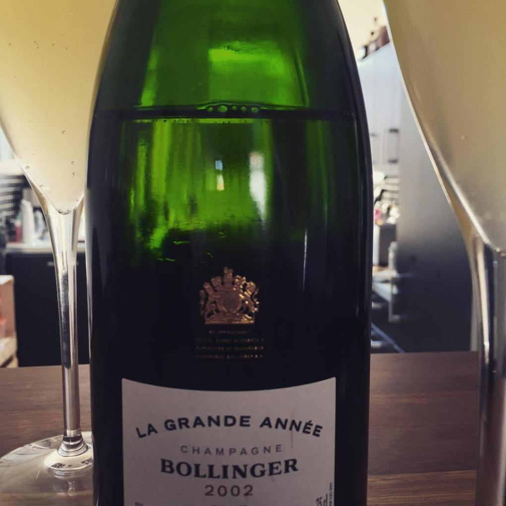 French 75 Cocktail - Made with Bollinger Champagne