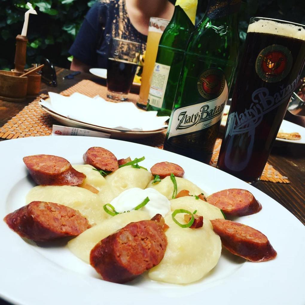 sausage-and-pierogi