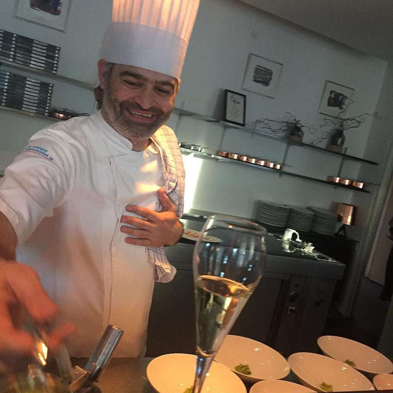 Wassim Hallal, head chef Restaurant Frederikshøj