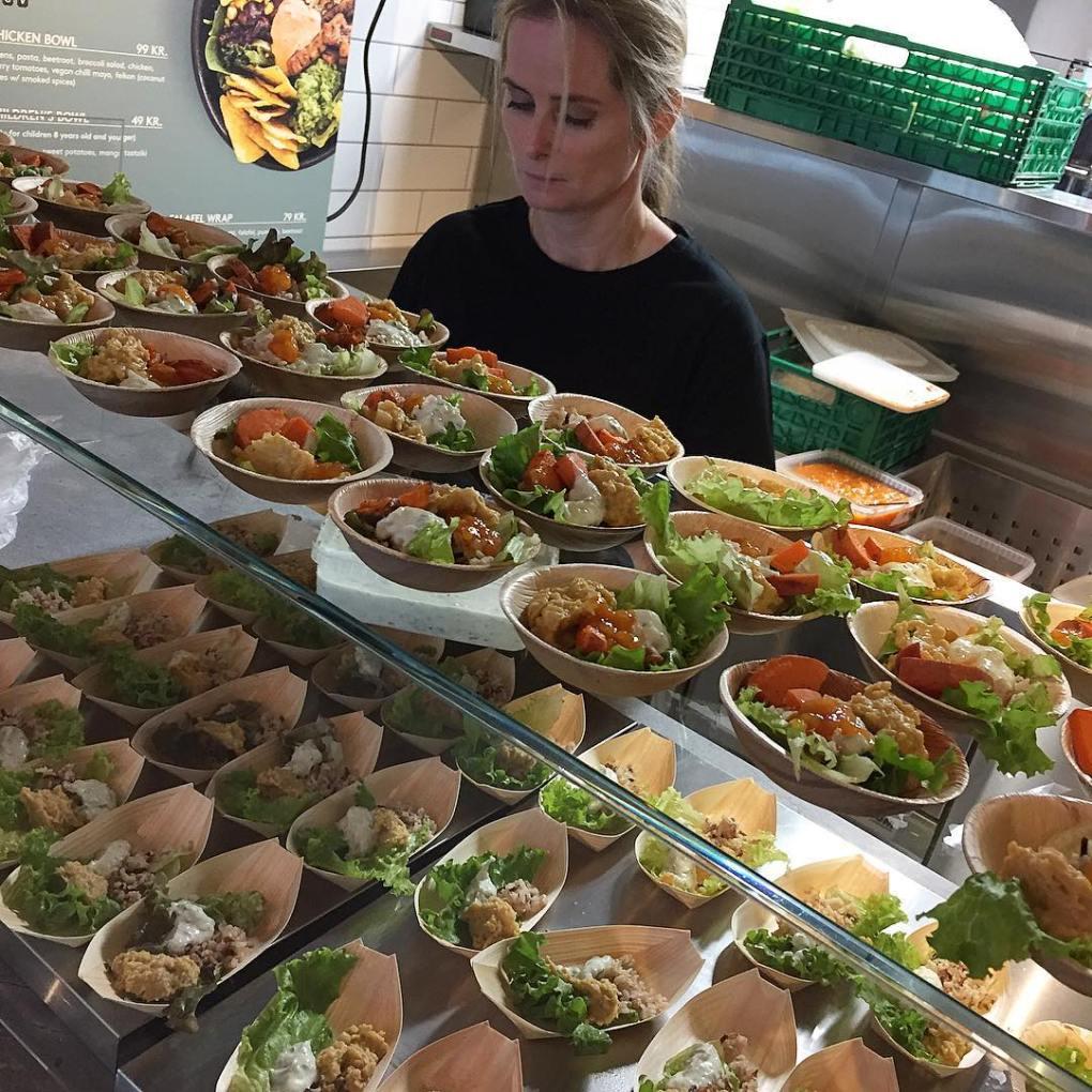 Salads at Tivoli Food Hall