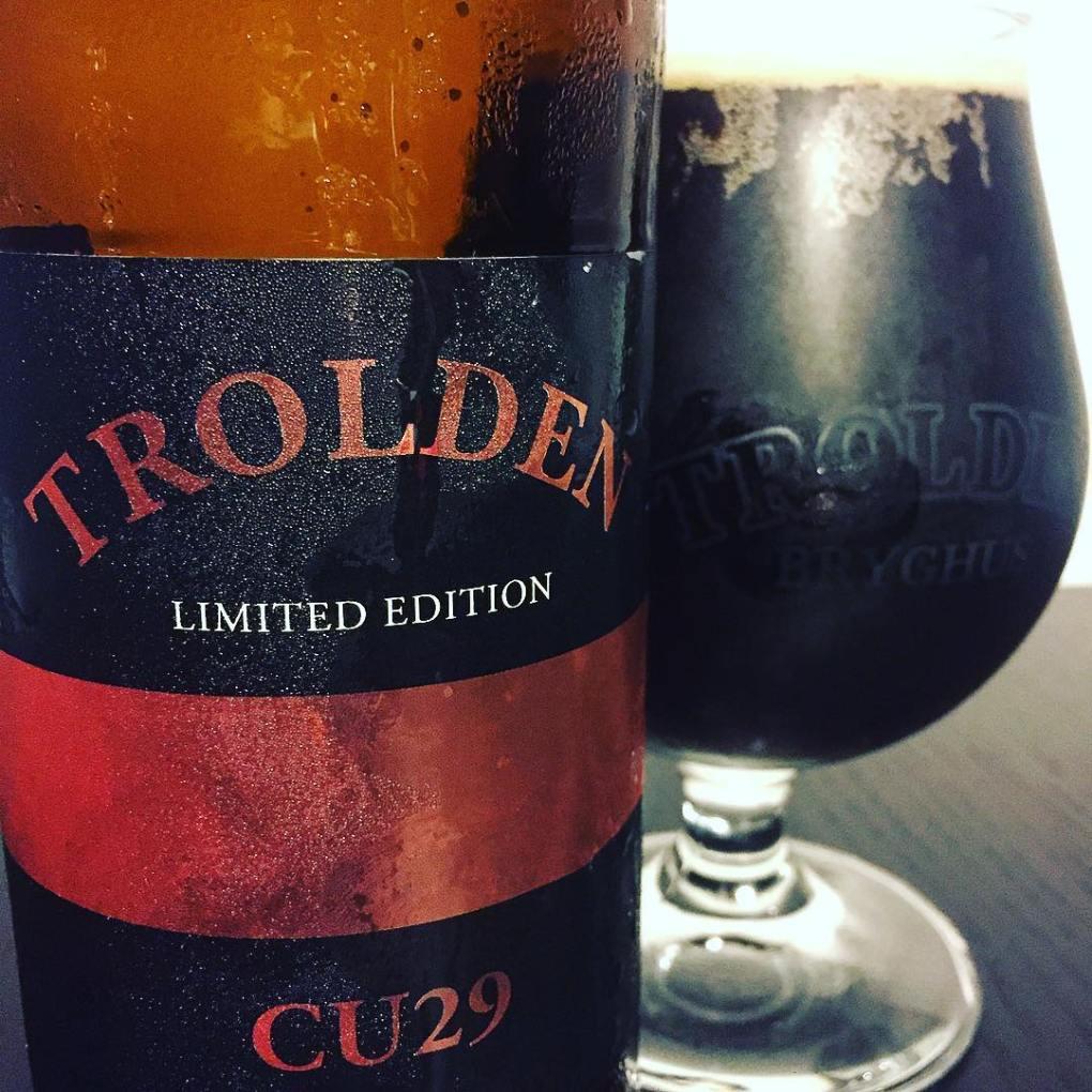 trolden anniversary brew beer