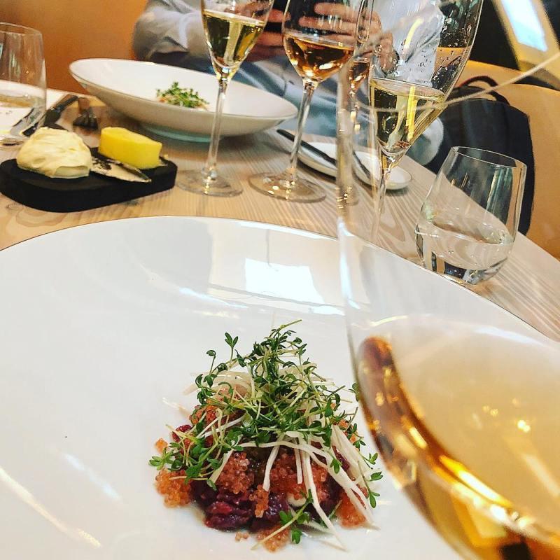 Beef tartare at Restaurant Niels