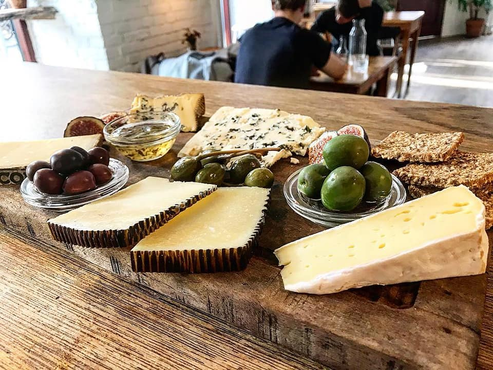 Motley cheese plate