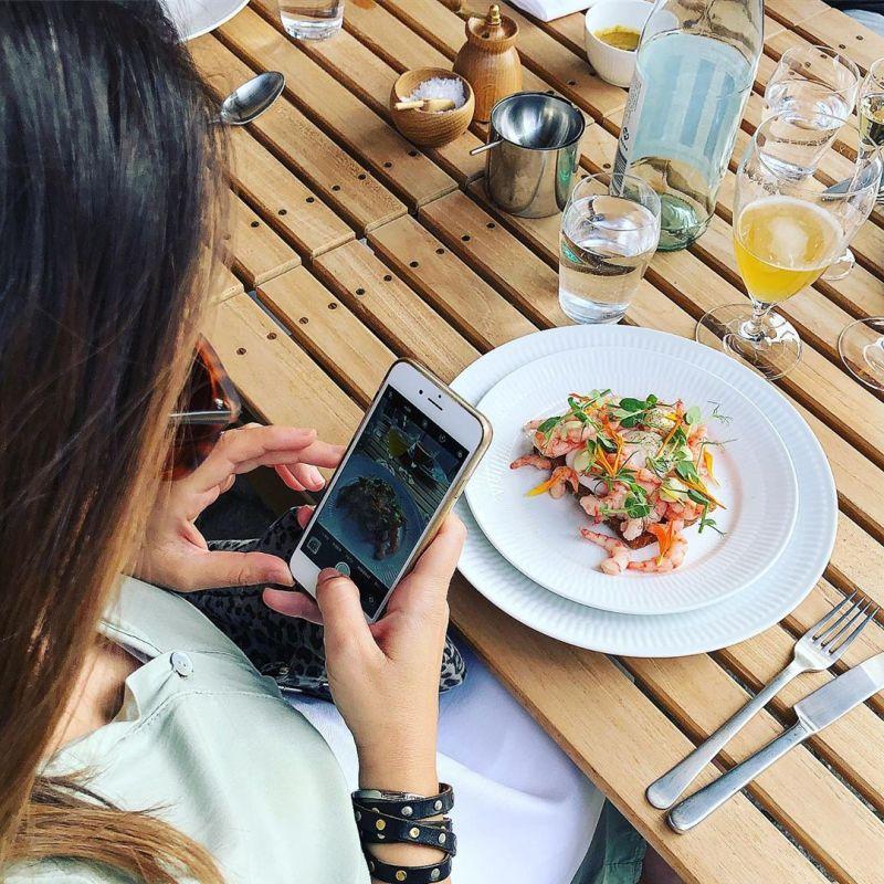 Eating at Restaurant Frihavn