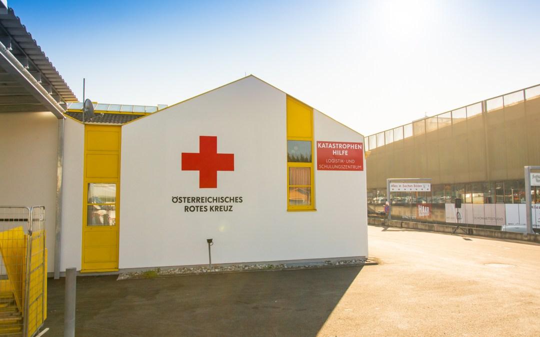 Zentrum für Katastrophenhilfe, Logistik und Schulungen eröffnet