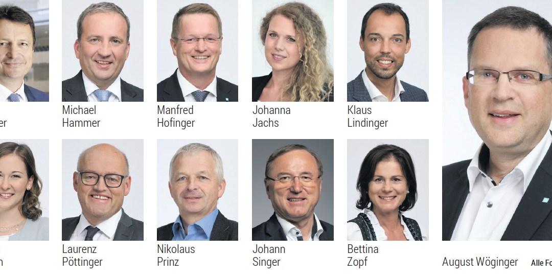 Die Oberösterreicher im Nationalrat