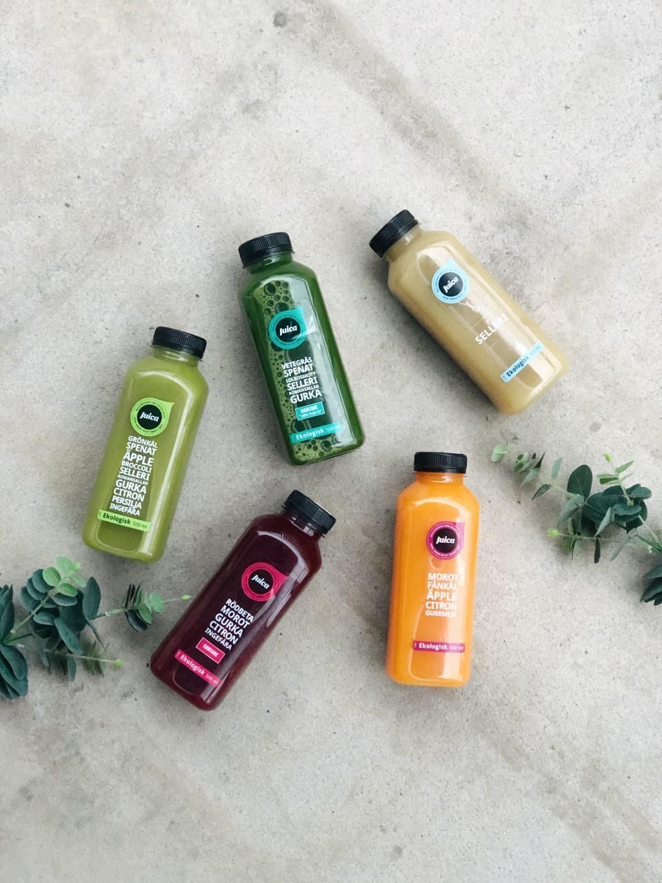 Boosta kroppen & huden med juice!