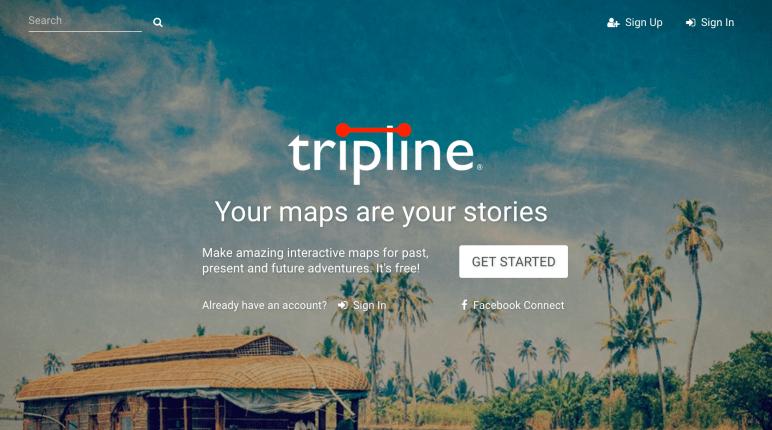 Tripline: Routen visualisieren - Johanna Daher