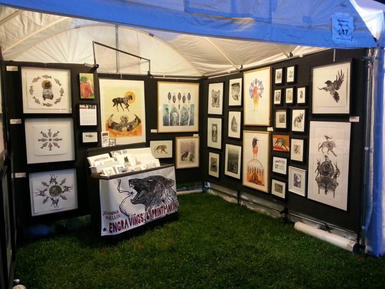 Art Fair Season by Johanna Mueller