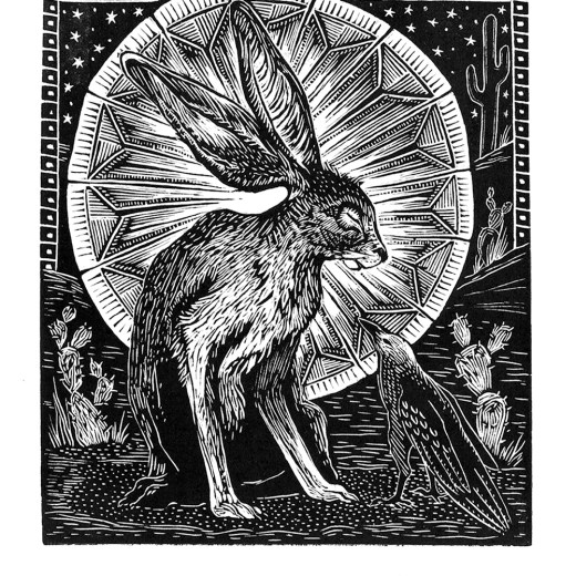 Night Encounter Print Edition by Johanna Mueller