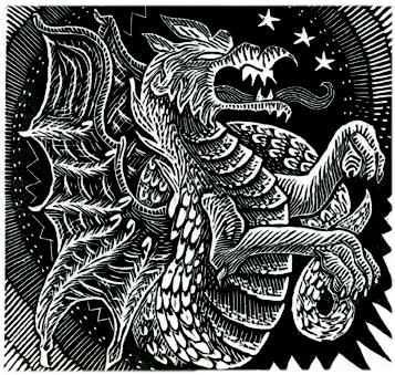 Year of the Dragon Print Edition by Johanna Mueller