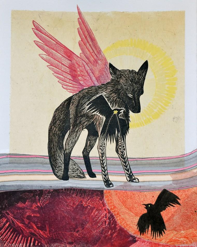 Fox-Pink-Wings-by-Johanna-Mueller