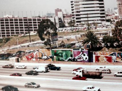 LA soccer freeway