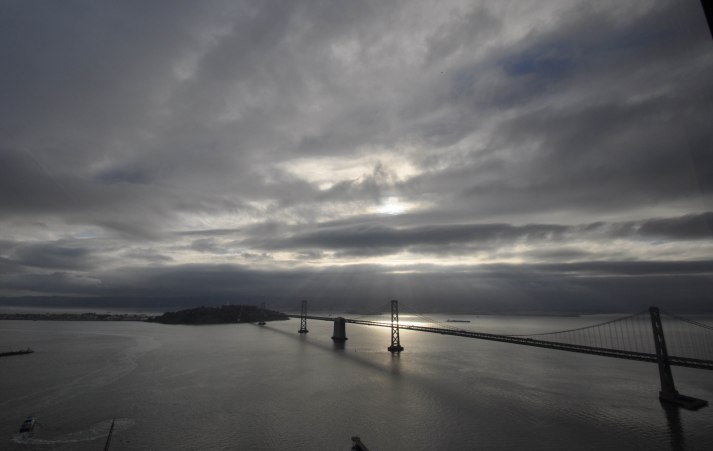 SF Bay Bridge morning