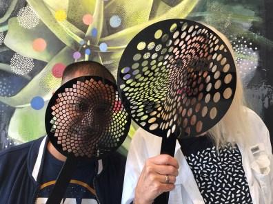 parastichy anti facial recognition masks