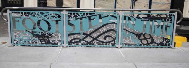 Photo_Uptown Station SB_footsteps_Lewis Watts