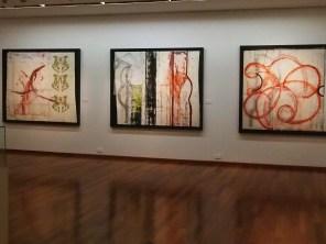 Centro Cultural John Hartmann en el Centro Cultural Británico en Miraflores, con la exposición de Ramiro Llona.