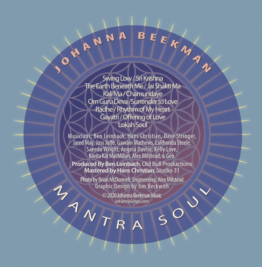 Mantra Soul Back Cover