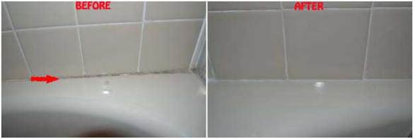 HOW TO REMOVE MOLD AND MILDEW ON CAULK