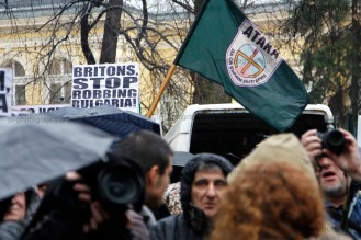Bulgarian ultra-nationalists rally against alleged UK racism, discrimination