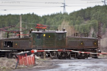 LEW EL 2 pit railway locomotive, Republika power plant, Pernik, Western Bulgaria