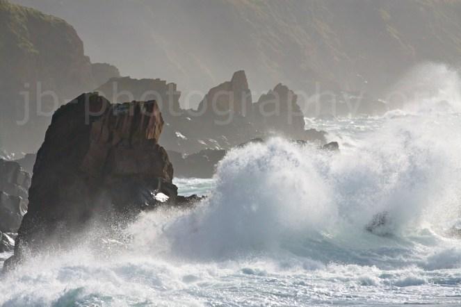 Rough water in the Blasket Sound