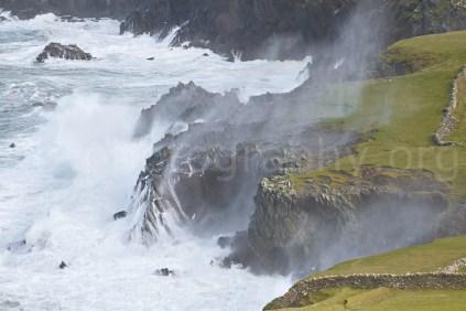 Stormy sea, Dunmore Head