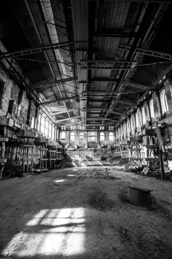 Gießereihalle nach oben 21