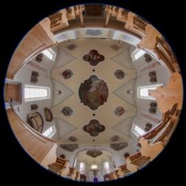 Alte Vandanser Kirche nach oben