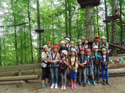 Klettern mit der Johannes Kuhn-Stiftung