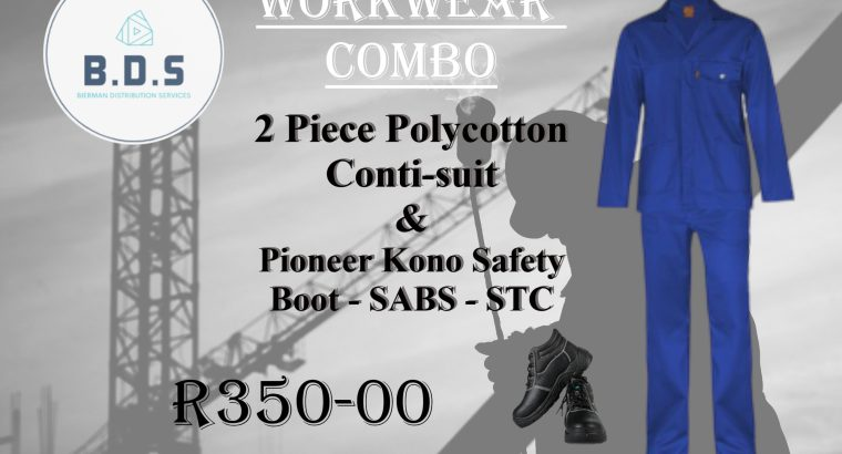 Locally manufactured high quality Work&safety wear