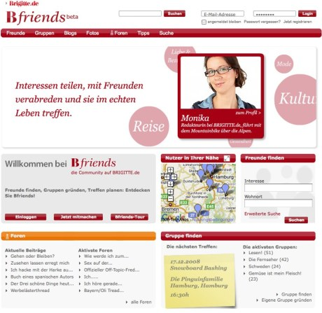 Bfriends - die Brigitte-Community