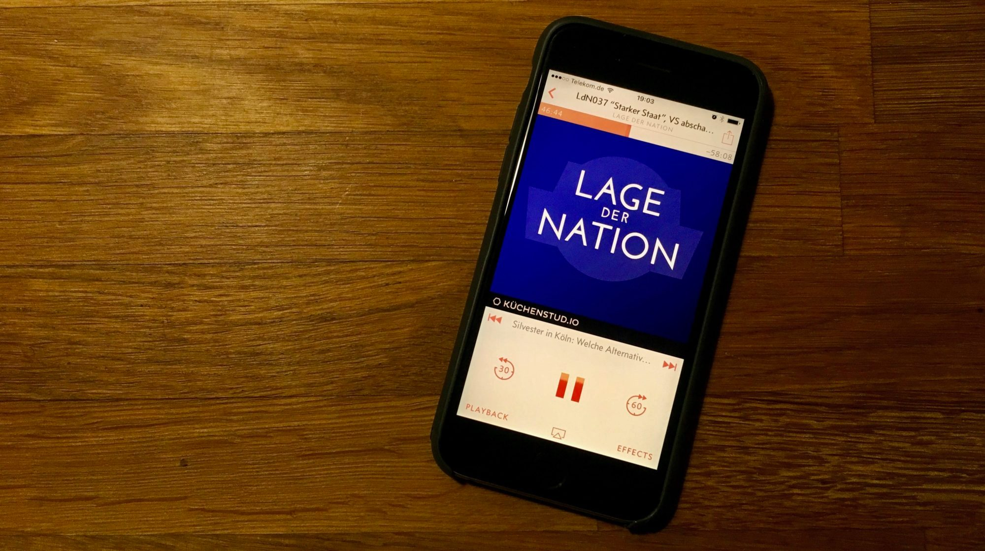 iphone mit podcast lage der nation