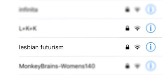 Wlan Lesbian Futurism