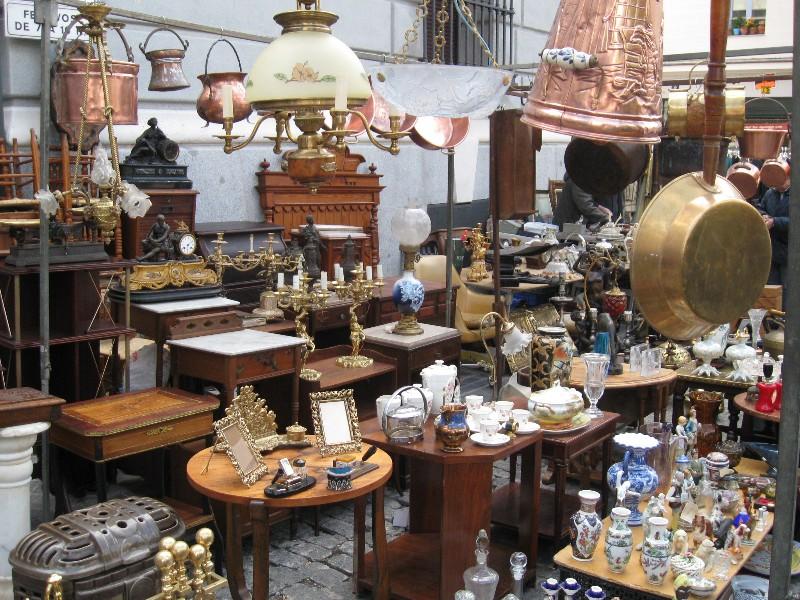 El Rastro Flea Market in Madrid  Johanne Yakula From