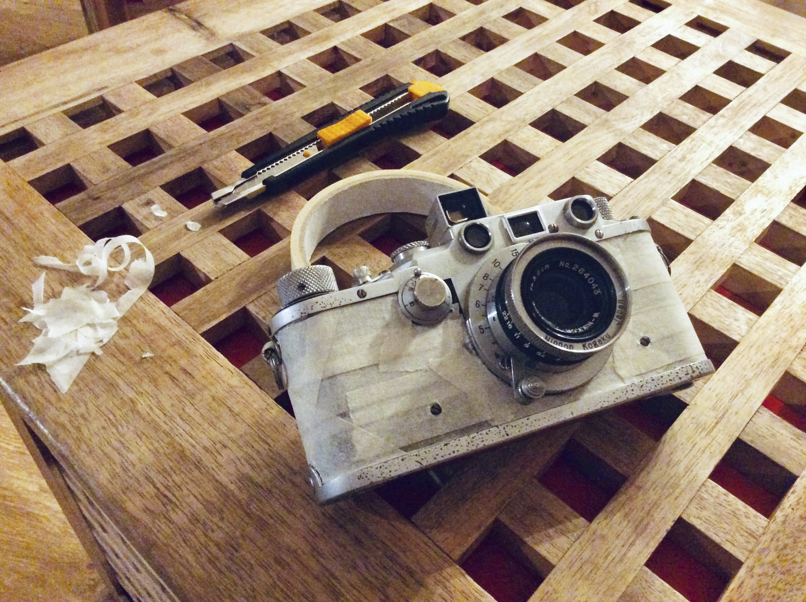 Leica vulcanite replacement