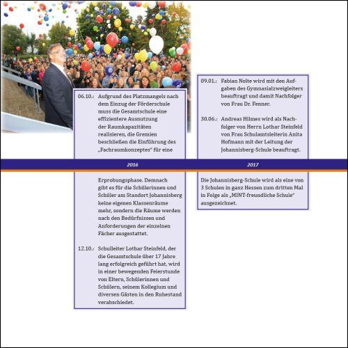... und wichtigen Ereignissen aus der Schulgeschichte