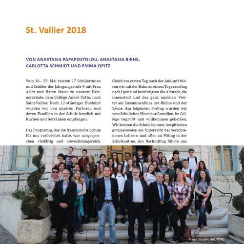 Aus dem Bericht vom diesjährigen Frankreichaustausch