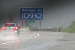Gränsen till Idaho