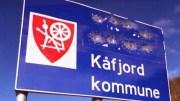 Vandaliserad samisk vägskylt i Gáivuotna