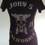 John 5 Red Monkey Skull shirt