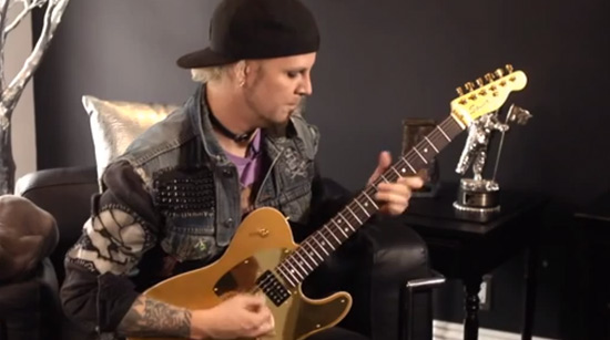 John 5 Squier Gold